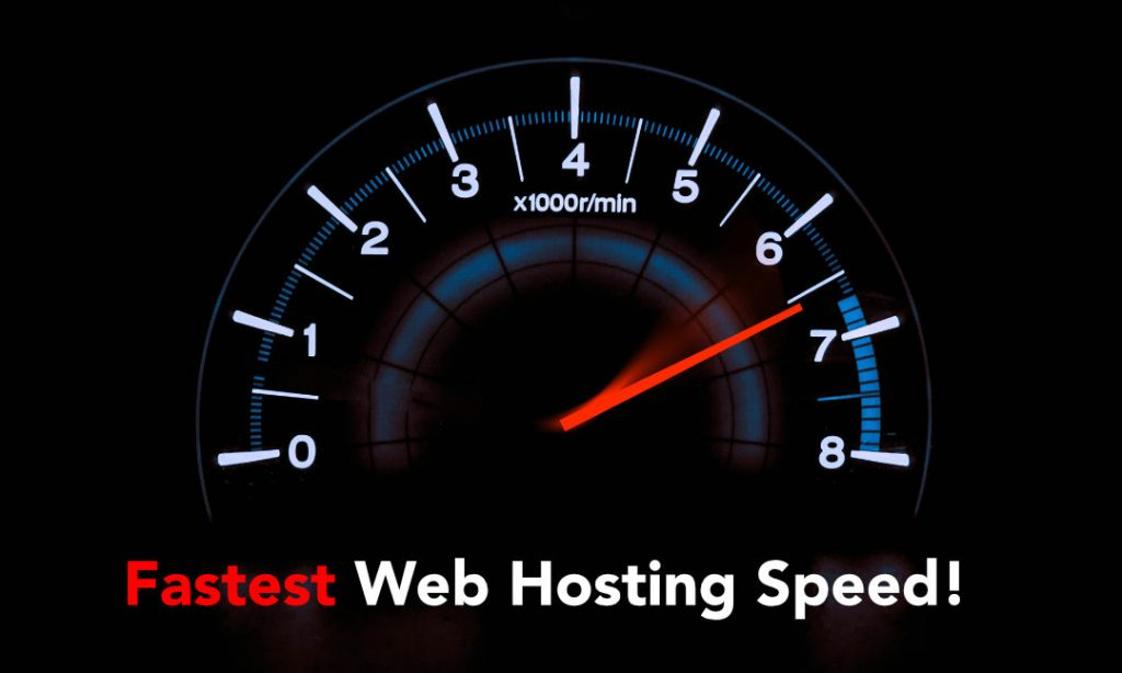 Fastest Web Hosting Speeds